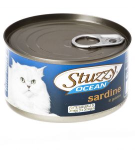 Stuzzy Cat - Ocean - 185g x 6 lattine