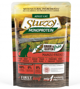 Stuzzy Cat - Monoprotein - Adult - 6 buste x 85g