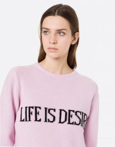 Maglione life is desire alberta ferretti