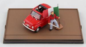 Fiat 500 150° Unità D'Italia Garibaldi 1/43 100% Made In Italy By Brumm