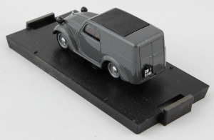 Fiat 500 Commerciale Grigio 1/43 100% Made In Italy By Brumm