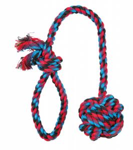 Trixie - Corda Gioco - Palla intrecciata - 50cm/ø7