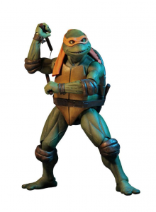 *PREORDER* Teenage Mutant Ninja Turtles Action Figure 1/4: MICHELANGELO by Neca