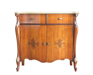 Credenza Gold-style 2 ante