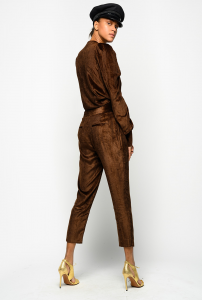 SHOPPING ON LINE PINKO PANTALONI IN VELLUTO A COSTE APICE 1 NEW COLLECTION WOMEN'S FALL WINTER 2020/2021