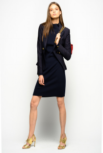 SHOPPING ON LINE PINKO BLAZER SLIM GESSATO EULALIO NEW COLLECTION WOMEN'S FALL WINTER 2020/2021