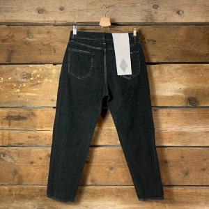 Pantalone Amish Jeremiah in Velluto a Costine Nero