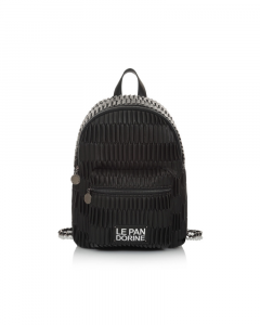 SHOPPING ON LINE LE PANDORINE METROPOLITAN BACKPACK YOURSELF BLACK NEW COLLECTION WOMEN'S FALL WINTER 2020/2021