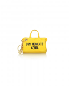 SHOPPING ON LINE LE PANDORINE TAG MINI BAG MOMENTO YELLOW NEW COLLECTION WOMEN'S FALL WINTER 2020/2021