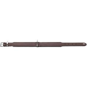 Hunter - Collare Basic in crosta di pelle rivestita 32/XS