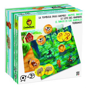 LUDATTICA FAMILY LA TOMBOLA DEGLI ANIMALI 74976 LISCIANI