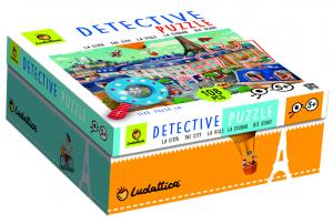 LUDATTICA BABY PUZZLE DETECTIVE IN CITTA. 74815 LISCIANI