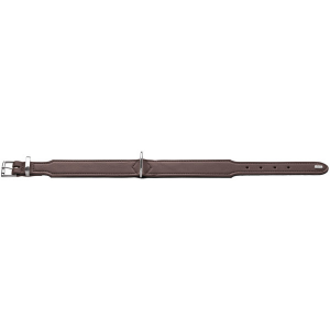 Hunter - Collare Basic in crosta di pelle rivestita 42/S-M