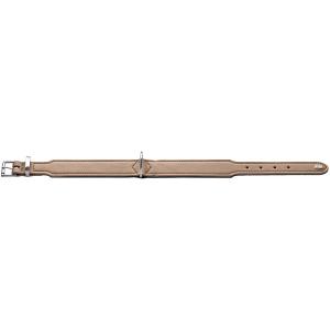 Hunter - Collare Basic in crosta di pelle rivestita 50/S-M
