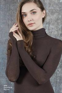 Dolcevita donna manica lunga cashmere ultra light SÙBLYME