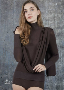 Lupetto donna manica lunga cashmere ultra light SÙBLYME