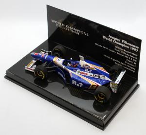 Jaques Villeneuve World Champion 1997 Williams Renault Fw19 1/43