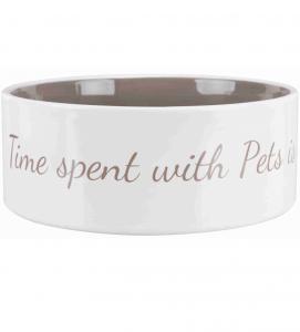 Trixie - Pet's Home - Ciotola Ceramica - 0.3 L