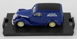 Fiat 1100e Furgone Gelati Motta 1950 1/43 100% Made In Italy By Brumm