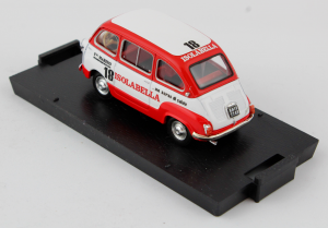 Fiat 600D Multipla Amaro 18 Isolabella 1960 1/43 100% Made In Italy By Brumm