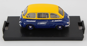 Fiat 600 Multipla Macchina Da Caffè Cimbali 1956 1/43 100% Made In Italy By Brumm