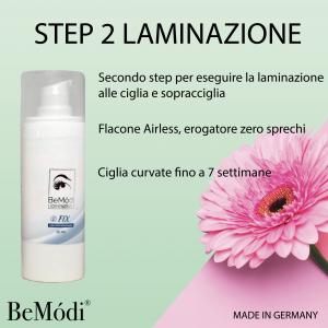 Step 2 FIX - Laminación de pestañas y cejas, BeModi