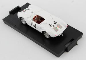 Porsche 550A RS Spyder Targa Florio 1956 1° Umberto Maglioli #84 1/43