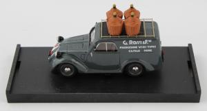 Fiat 500B Furgone G.Grossi E Figli 1950 1/43 100% Made In Italy By Brumm