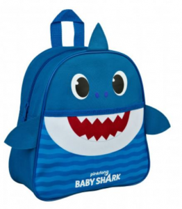 Zaino Baby Shark dim. 27x10 cm in 3D