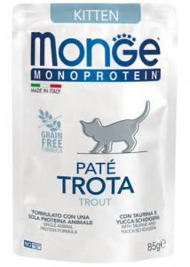 MONGE MONOPROTEIN BUSTE PER GATTO 85gr - 6 pezzi