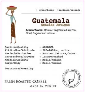 Caffè Majer in grani Guatemala Genuine Antigua  -  250gr
