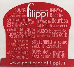 Panettone al limone e cioccolato bianco 1 Kg. - Pasticceria Filippi (VI)