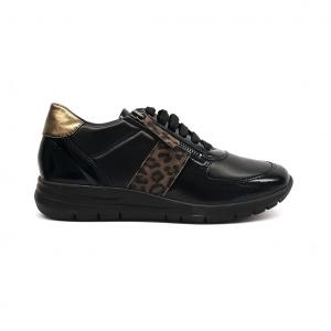 Sneaker nera Grunland