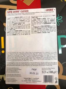 Panettone Super Avoriè Classico 1 Kg. - Pasticceria Filippi (VI)