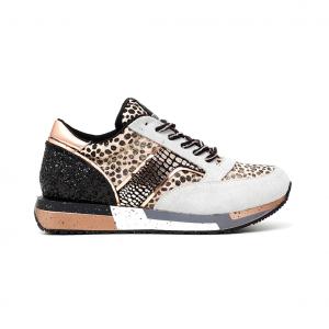Sneaker beige/multi CAFéNOIR