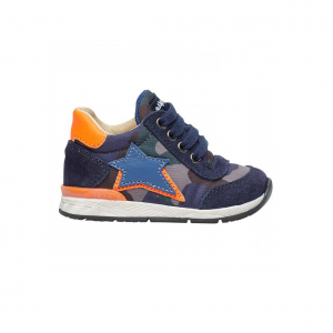 Sneaker navy/multicolor Falcotto