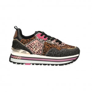 Sneaker multicolor animalier Liu Jo