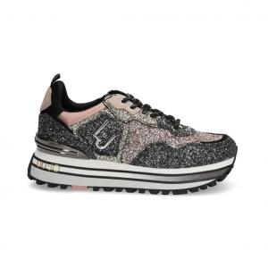 Sneaker multicolor glitterata Liu Jo