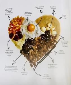 Panettone con Fragoline di bosco e cioccolato al latte 1Kg. - Pasticceria Filippi (VI)