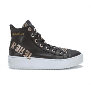 Sneaker alta nera NiRa Rubens