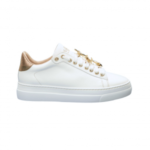 Sneaker bianca con api Stokton