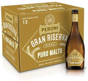 BIRRA PERONI GRAN RISERVA PURO MALTO 50 cl x 12 pz