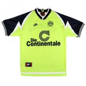 1995-96 Borussia Dortmund Maglia Home S