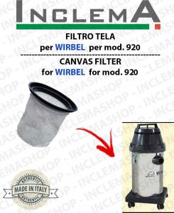 FILTRO TELA per ASPIRAPOLVERE WIRBEL 920