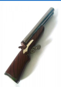 RIFLE LIGHTER rifle double CANNA Rechargeable COLLECTION New GIFT IDEA FUCILE