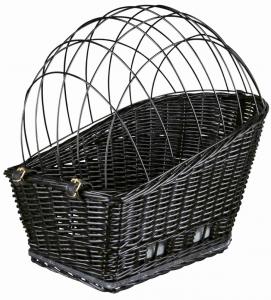 Trixie - Trasportino per Portapacchi - Cesto Vimini - Fino a 8kg