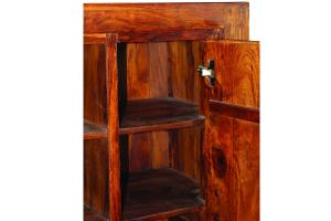 Vetrinetta in legno di palissandro indiano