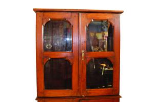 Vetrinetta indiana in legno di teak
