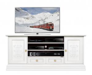 Mueble tv con frisos ancho 160 cm