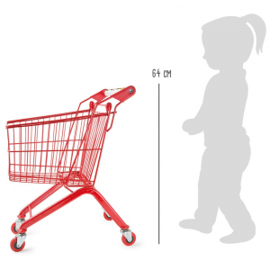 Carrello della spesa compatto gioco per bambini